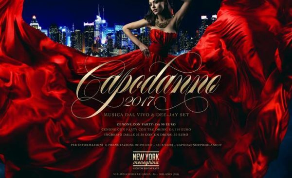 CAPODANNO PER SINGLE E COMPAGNIE NEW YORK MENEGHINA