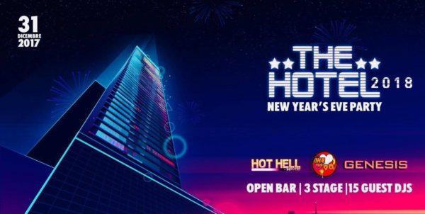 CAPODANNO 2018 THE HOTEL BUFFET ED OPEN BAR