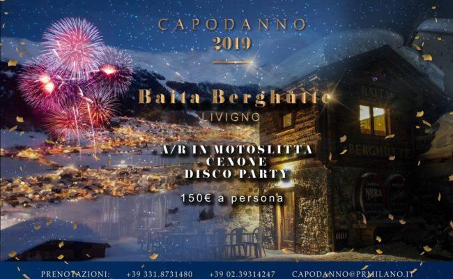 CAPODANNO 2019 BAITA BERGHUTTE LIVIGNO