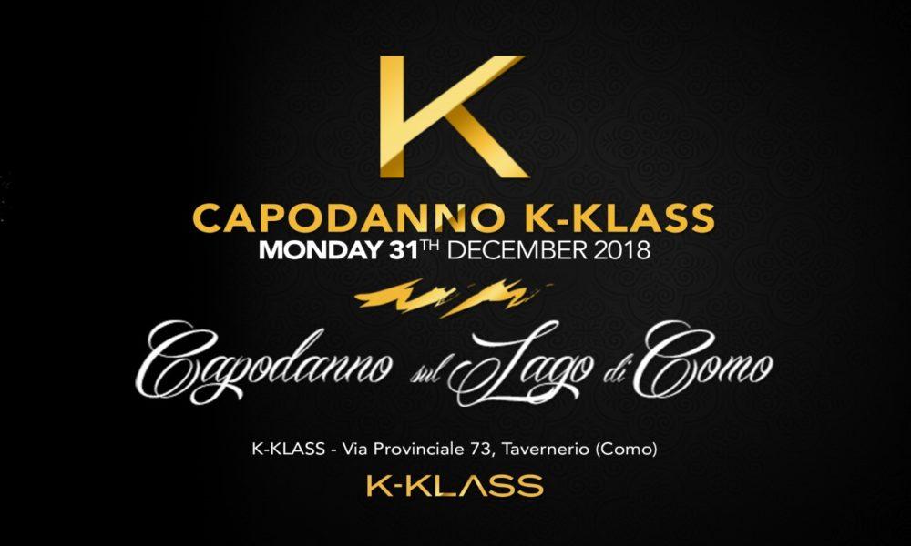 CAPODANNO 2019 DISCOTECA K-KLASS COMO